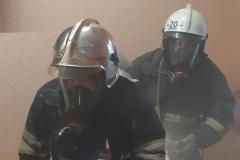 Тренировка по эвакуации из здания УМЦ