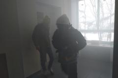 15 февраля была проведена плановая практическая тренировка по эвакуации людей из здания учебно-методического центра по ГО и ЧС