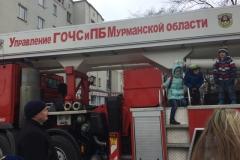 День пожарной охраны России. Площадь Пять Углов, Мурманск