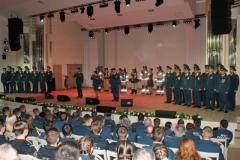 Праздничный концерт, посвящённый 370-летию пожарной охраны