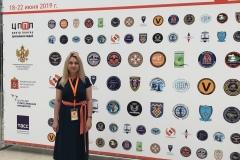 И. П. Курляндская на II Всероссийском форуме добровольных поисково-спасательных отрядов