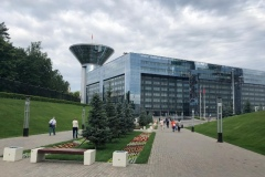 Здание Правительства Московской области, где проходит форум добровольных поисково-спасательных отрядов