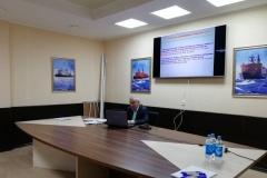 """Анатолий Малеев на занятиях в """"Атомфлоте"""""""