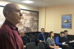 """Николай Вербецкий на занятиях в """"Атомфлоте"""""""