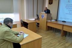 Николай Вербецкий и учебная группа руководителей групп занятий