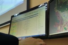 Интерфейс системы-112 в кабинете № 33. Кабинет подготовки населения в области гражданской обороны и защиты от чрезвычайных ситуаций