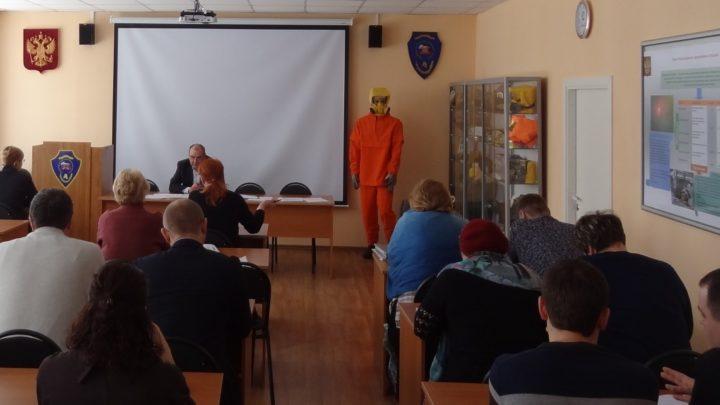 УМЦ продолжает курсовое обучение должностных лиц и работников ГО и РСЧС
