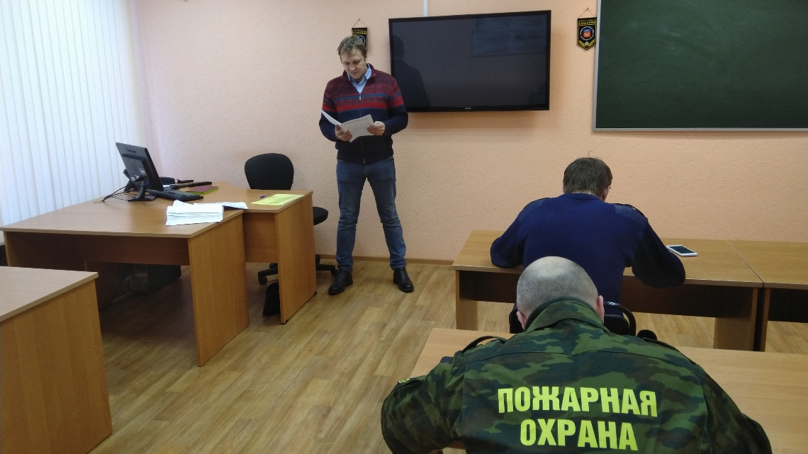 Учебные сборы начальников караулов и командиров отделений