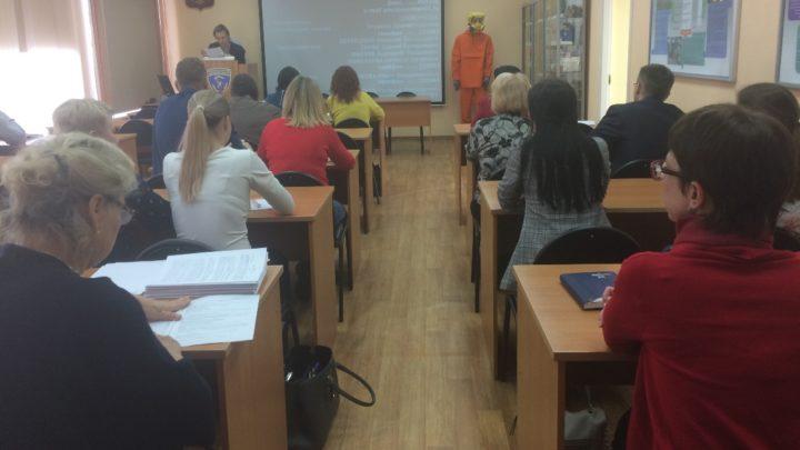 Обучение председателей и членов КЧС и ОПБ муниципальных образований Мурманской области