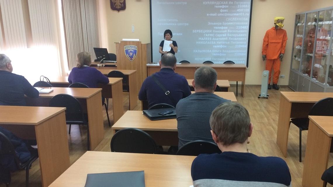 На этой неделе в УМЦ началось обучение членов КЧС и ОПБ и руководителей НФГО