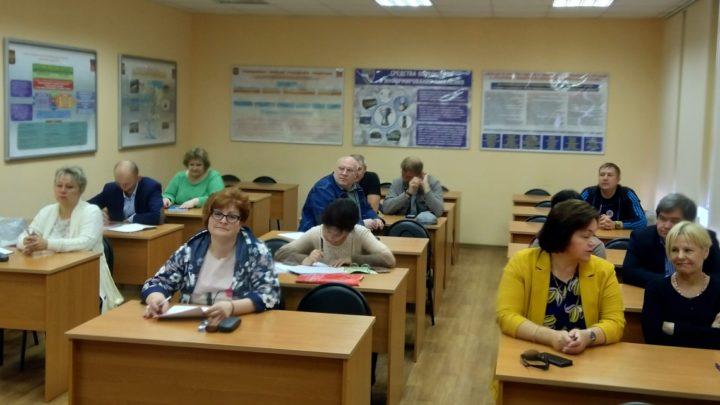 В учебно-методическом центре продолжается подготовка должностных лиц и специалистов ГО и РСЧС