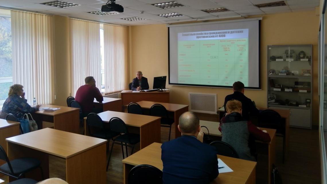 В учебно-методическом центре проходят обучение председатели комиссий по ПУФ