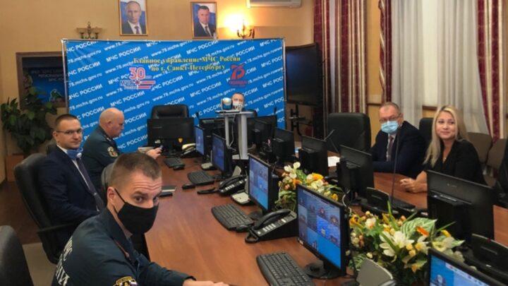 Ия Курляндская приняла участие в Сборе начальников УМЦ ГОЧС