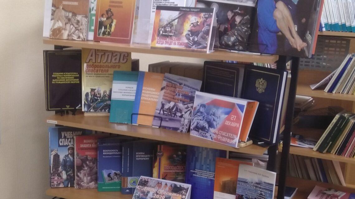 Книжная иллюстративная выставка, приуроченная ко Дню спасателя