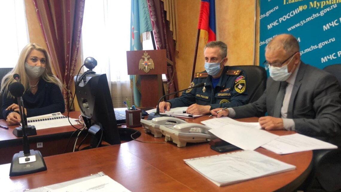 Селекторное совещание в МЧС России