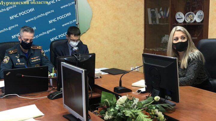 Ия Курляндская приняла участие в совещании с заместителями начальников ГУ МЧС России