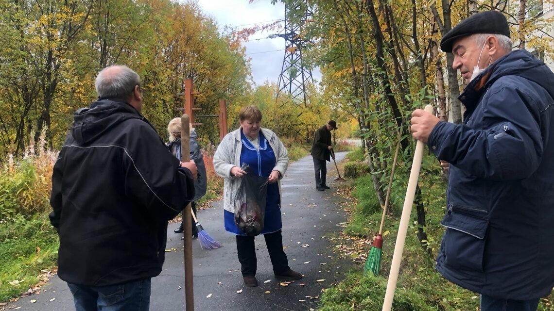 «Зелёная Россия»: субботник в УМЦ