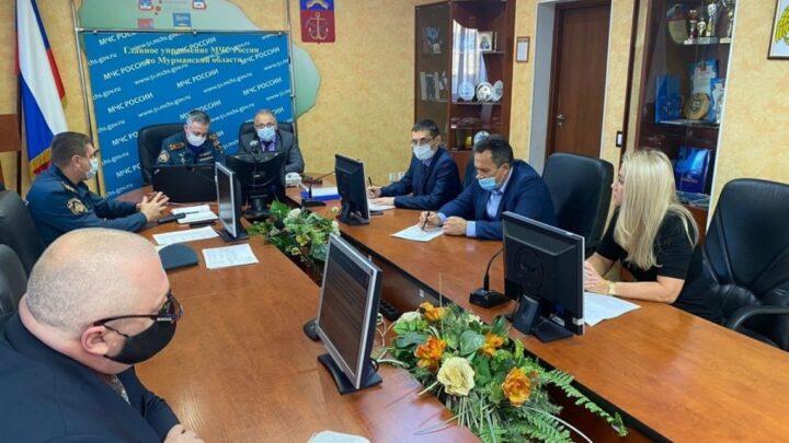 Ия Курляндская принимает участие в совещании с заместителями начальников ГУ МЧС России, отвечающих за вопросы ГО и ЧС