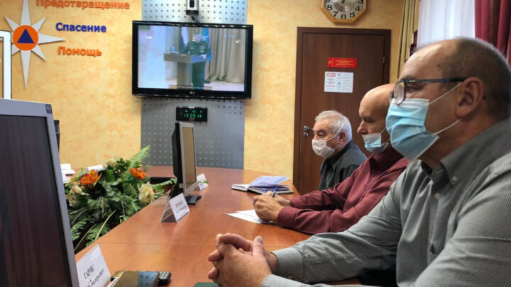 Начальник и преподаватели УМЦ приняли участие в конференции в режиме видеоконференцсвязи