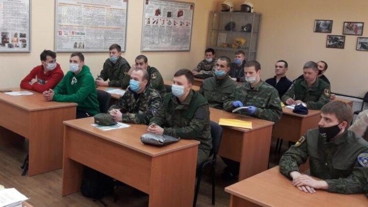 Учебные сборы по специальному первоначальному обучению пожарных ГПС Мурманской области